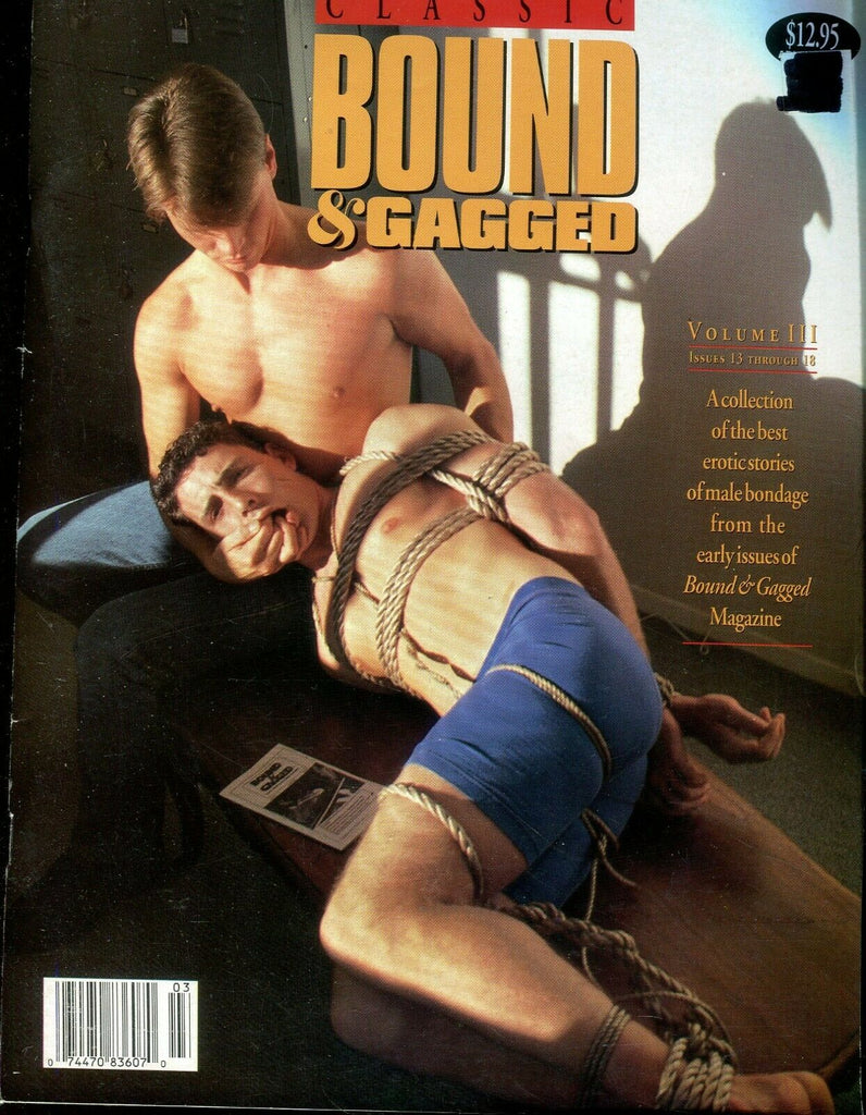 Bound Gagged Gay Magazine Male Bondage #13 December 1989 111619lm-ep