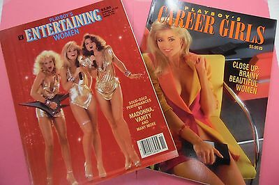 Lot Of 2 Playboy Magazines Entertaining Women 1985/ Career Girls 062516lm-ep - New