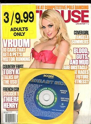 Lot Of 2 Magazines w/DVD Penthouse May 2012/ Hustler November 2012 030818lm-ep - New