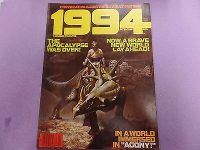 1994 Provocative Illustrated Adult Fantasy Magazine #16 1980 041516lm-ep5 - New
