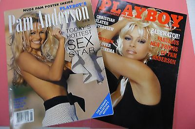 Lot Of 2 Playboy's Magazine Pam Anderson May 1996/ November 1994 062416lm-ep4 - Used
