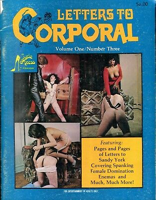 Letters To Corporal Fetish Magazine Erotic Spanking vol.1 #3 1981 042518lm-ep2