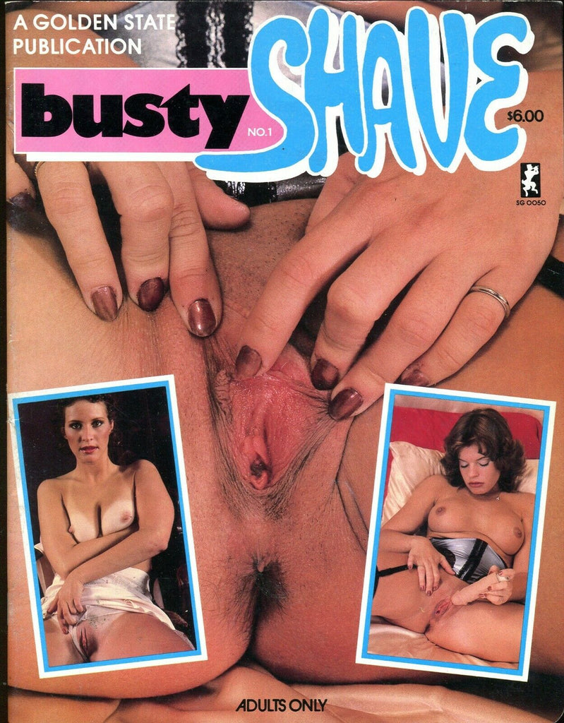 Busty Shave Magazine Karen/Suzie #1 1980's 061219lm-ep - Used