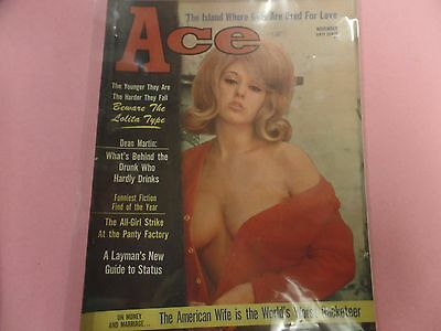 Ace Busty Adult Magazine Dean Martin November 1966 031816lm-ep