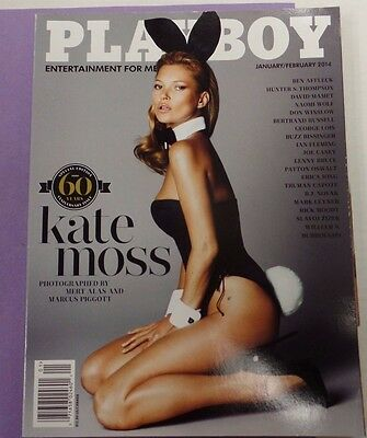 Playboy Adult Magazine 60th Anniversary /Kate Moss February 2014 111115lm-ep - New