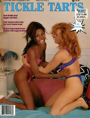 Tickle Tarts Fetish Magazine Lusty Lesbians vol.1 #2 1994 101818lm-ep