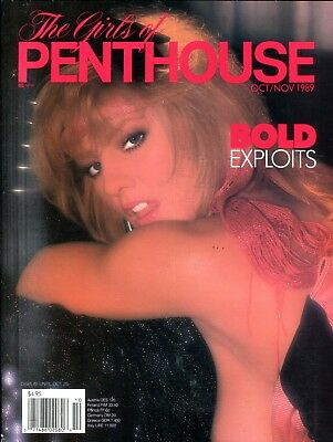 Girls Of Penthouse Magazine Bold Exploits October 1989 062218lm-ep - Used