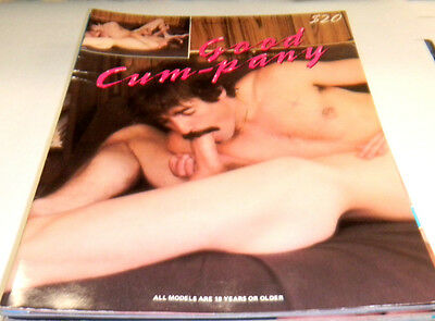 Good Cum-pany Gay Adult Magazine ex 123113lm-ep