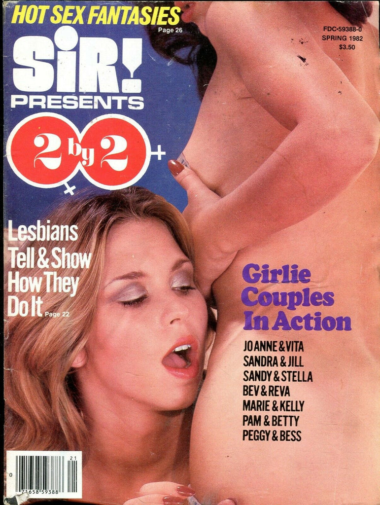 Sir! Presents 2 by Magazine Lesbians Tell & Show Spring 1982 071919lm-ep - Used