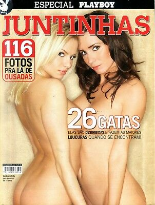 Playboy Portuguese Lesbian Magazine Sativa Rose /Charmane Star 2006 060518lm-ep