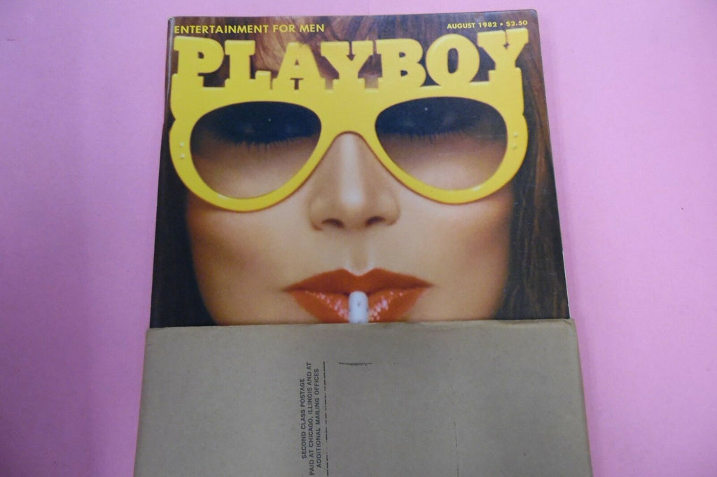 Playboy Magazine Summer Sex Issue August 1982 010617lm-ep