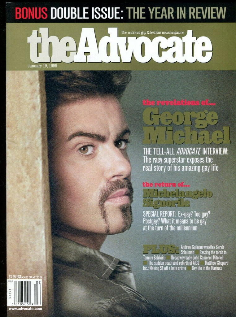 The Advocate Gay & Lesbian Magazine George Michael January 1999 051519lm-ep