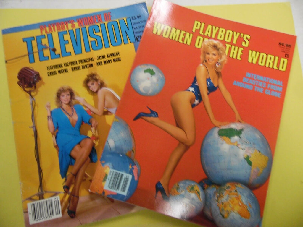 Lot Of 2 Playboy's Special Edition's 1984/1987 052116lm-ep - Used