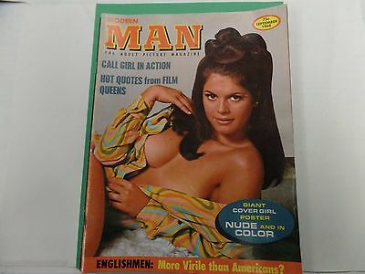 Modern Man Busty Adult Magazine Vivi Kraik September 1968 ex 021516lm-ep