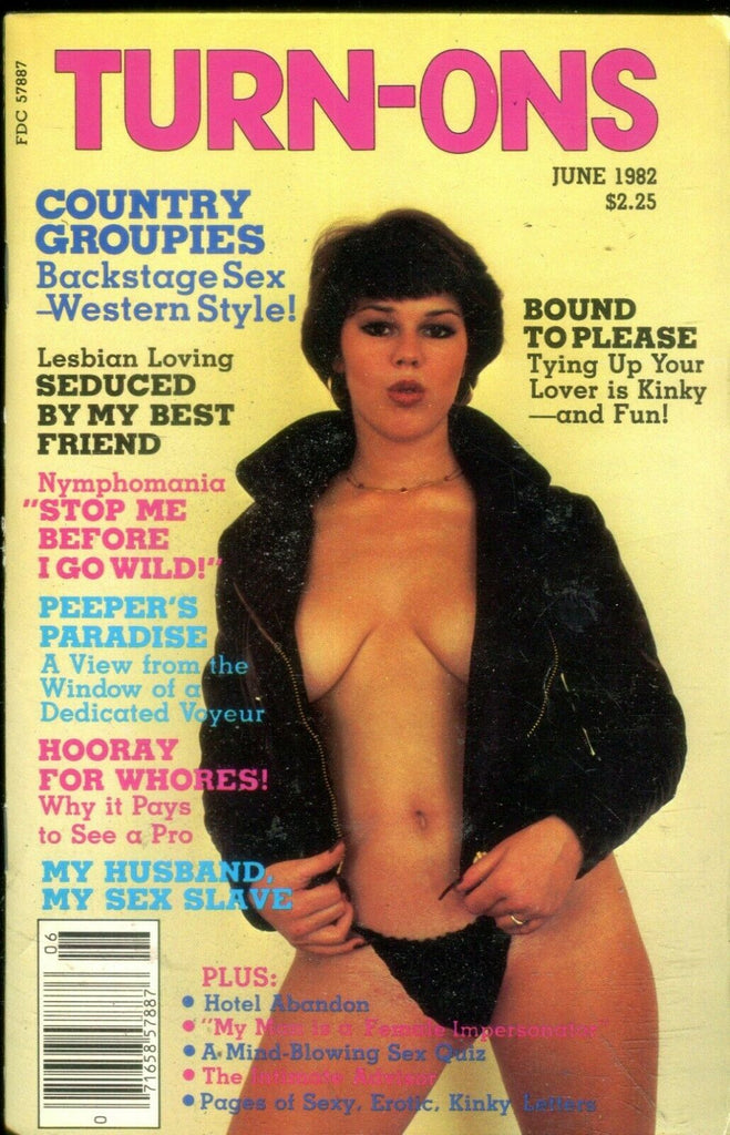 Turn-Ons Digest Bound To Please/ Lesbian Loving June 1982 021019lm-ep