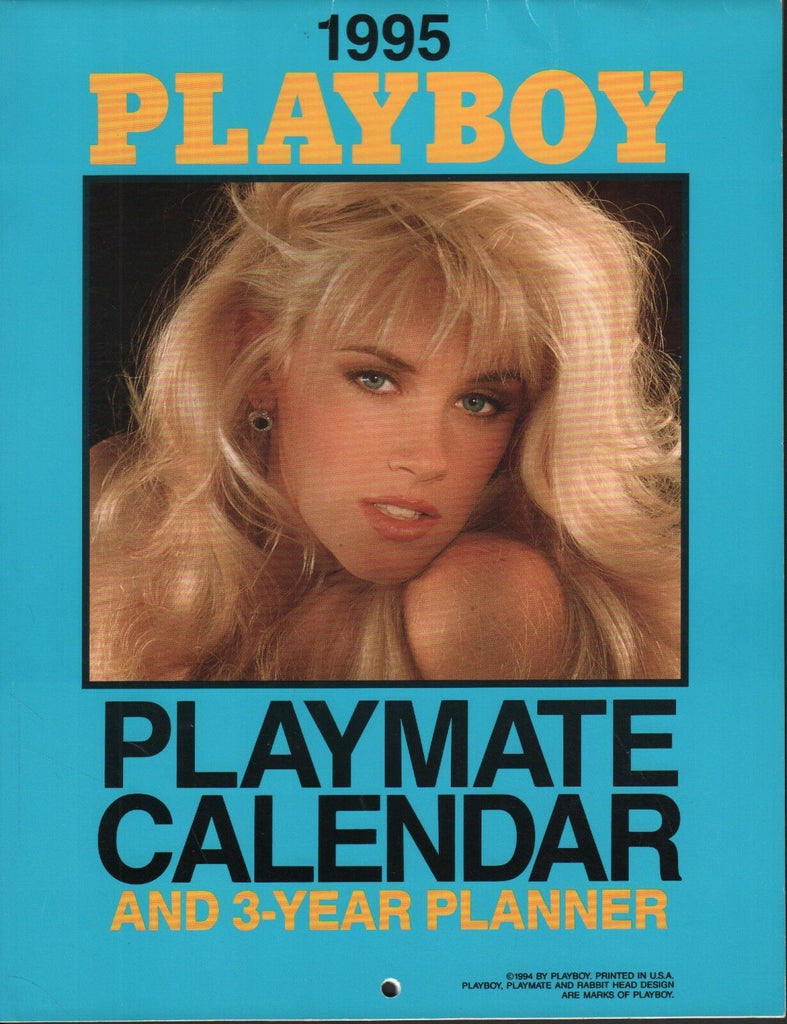"Playboy 1995 Calendar & 3 year Planner Adult Calendar 11""x8.5"" 051818DBCAL - Used"