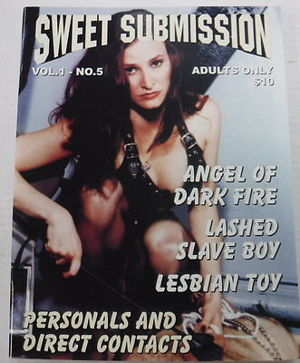 Sweet Submission Adult Fetish Magazine Angel Of Dark Fire 1999 081915lm-ep