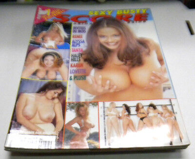 Sexy Busty Score Adult International Magazine Alyssa Alps 1999 040214lm-ep