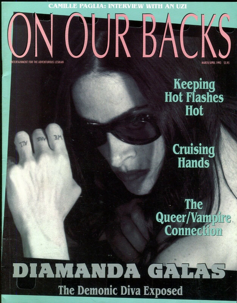 On Our Backs Lesbian Magazine Diamanda Galas March 1993 110119lm-ep