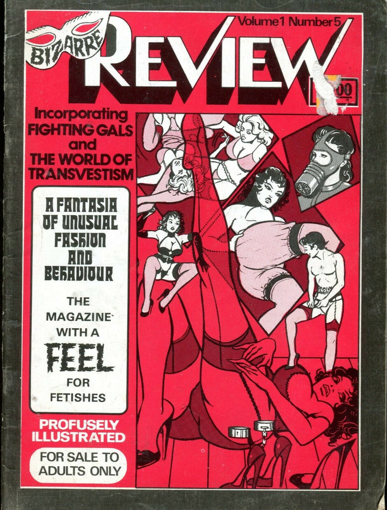 Bizarre Review Magazine Fighting Girls & World Of Transvestism 071219lm-ep