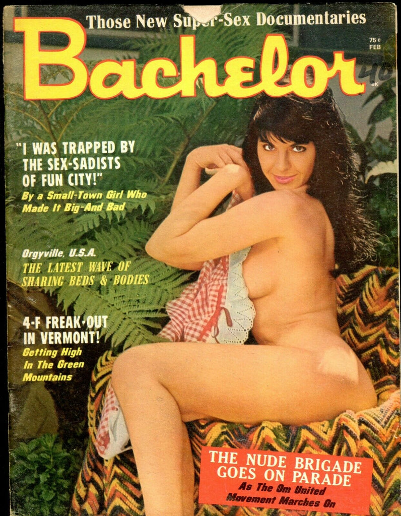 Bachelor Magazine Orgyville, U.S.A. February 1971 071419lm-ep