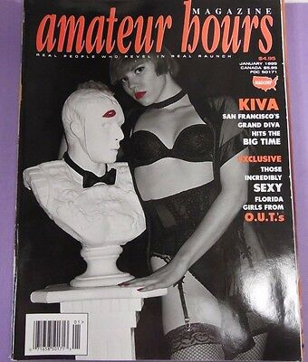 Amateur Hours Magazine Kiva January 1995 022713lm-epa - New