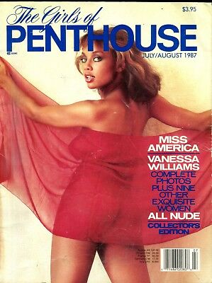 Girls Of Penthouse Magazine Vanessa Williams July 1987 060718lm-ep - Used