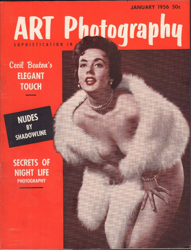 Art Photography January 1956 Cecil Beaton, Nudes By Shadowline EX 110916DBE