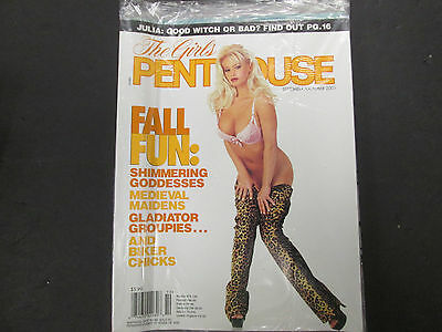 Girls Of Penthouse Adult Magazine Fall Fun October 2001 new 040715lm-ep - Used