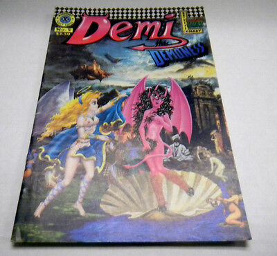 Demi The Demoness Adult Comic #5 2000 vg 020414lm-ep2