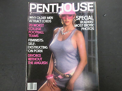 Penthouse Adult Magazine Janna Adams October 1986 vg 042115lm-ep - Used