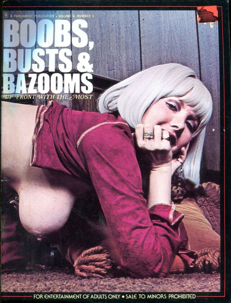 Parliament Publication Boobs, Busts & Bazooms Magazine Karen Brown/ Uschi Digart vol.6 #1 010820lm-ep - Used