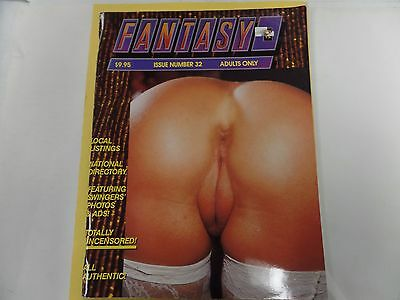 Fantasy Adult Contact Magazine Swingers #32 1991 ex 021716lm-ep2