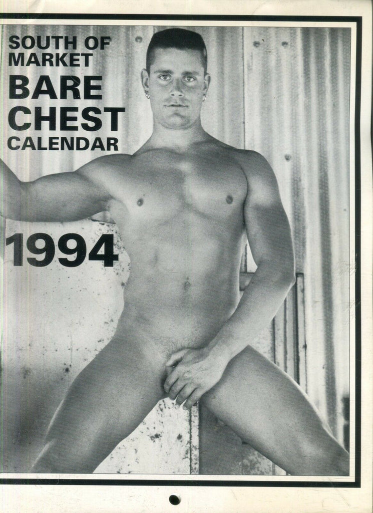 Unbranded 1994 South Of Market Bare Chest Calendar Reed Morrow & More! 112418lm-ep - New