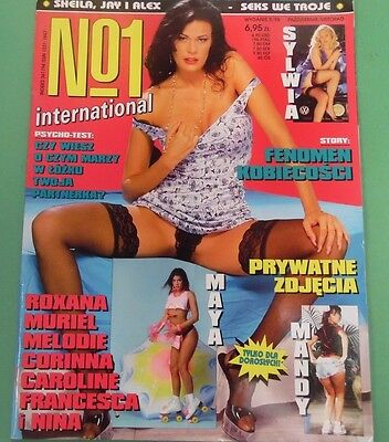 Unbranded #1 International Polish Magazine Sylwia May 1998 082213lm-epa - Used