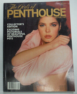 Girls Of Penthouse Magazine Angela Marie Mineo January/February 1987 080315REP - Used