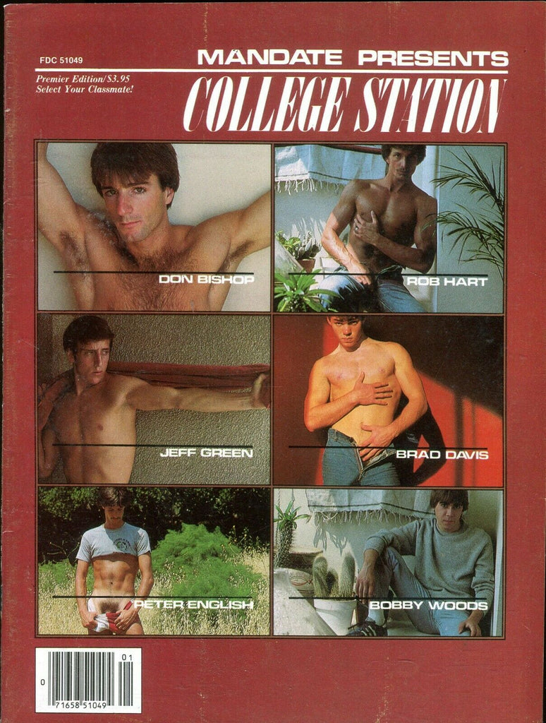 College Station Gay Magazine Peter English/Don Bishop 1981 090419lm-ep