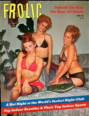 Frolic Busty Magazine Elaine Desmond April 1965 110618lm-ep