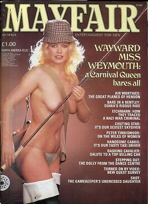 Mayfair Magazine Miss Weymouth/ Karen Bull vol.18 #6 061818lm-ep2
