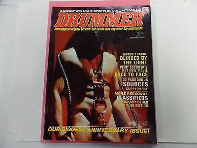 Drummer Gay Adult Magazine Anniversary Issue #47 1981 vg 022816lm-ep