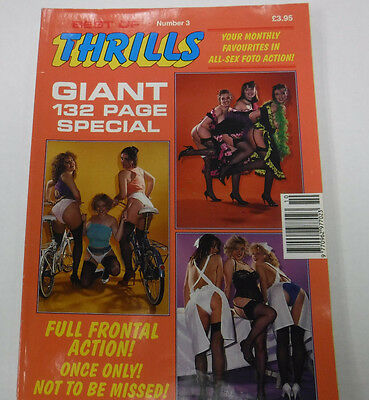 Best Of Thrills Busty Adult Magazine 132 pages! #3 1993 080715lm-ep