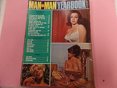 Man To Man Yearbook Adult Magazine Jill St.John Fall 1966 031816lm-ep