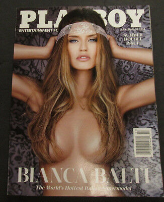 Playboy Adult Magazine Bianca Balti August 2014 Double Issue ex 051815lm-ep - New