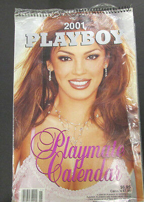 Playboy 2001 Adult Playmate Calendar new/sealed 040715lm-ep - Used