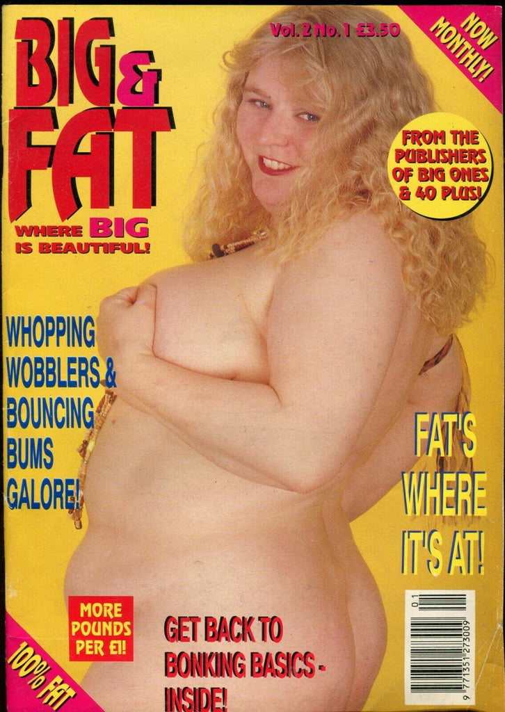 Big & Fat Magazine Candy Sweet & Sexy vol.2 #1 1995 071419lm-ep