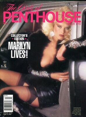 Girls Of Penthouse Magazine Marilyn Lives! Collector Edition 1992 102717lm-ep2 - New