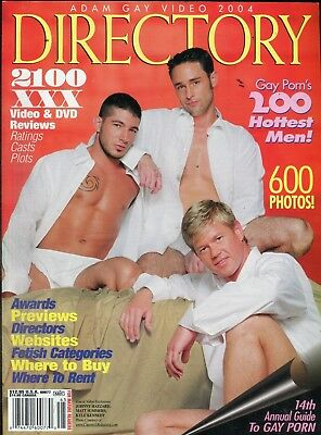 Adam Gay Video Directory Magazine Johnny Hazzard 2004 043018lm-ep