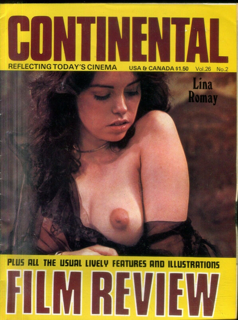 Unbranded Continental Film Review Lina Romay / Christopher Reeves vol.26 #2 030519lm-ep - Used