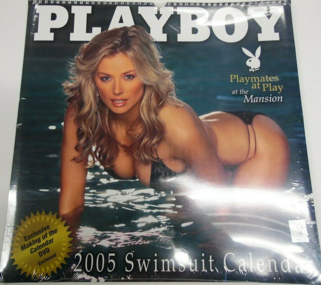 "Unbranded Playboy 2005 Swimsuit Calendar At The Mansion 15"" x 15"" new 022219lm-ep - New"
