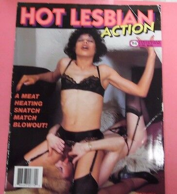 Hot Lesbian Action Magazine vol.1 #3 1998 by Regent House 052017lm-ep2 - Used
